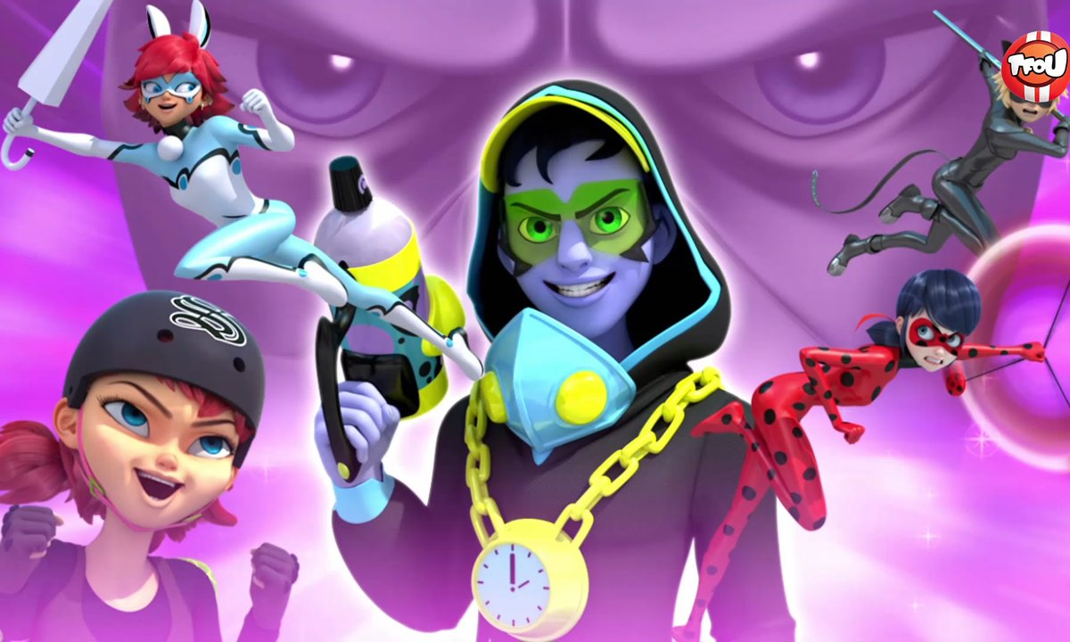 Miraculous - Les aventures de Ladybug et Chat Noir - Timetagger - extrait