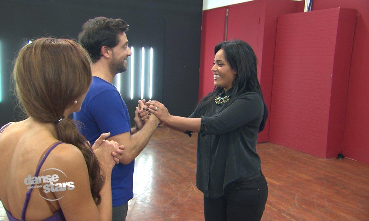 #DALS répétitions : Amel Bent rend une visite suprise à Titoff