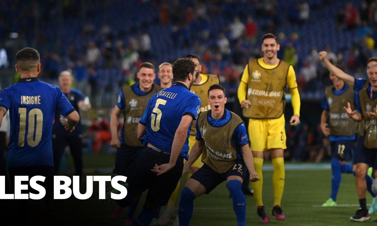 Italie - Suisse (3 - 0) : Voir tous les buts de la rencontre en vidéo