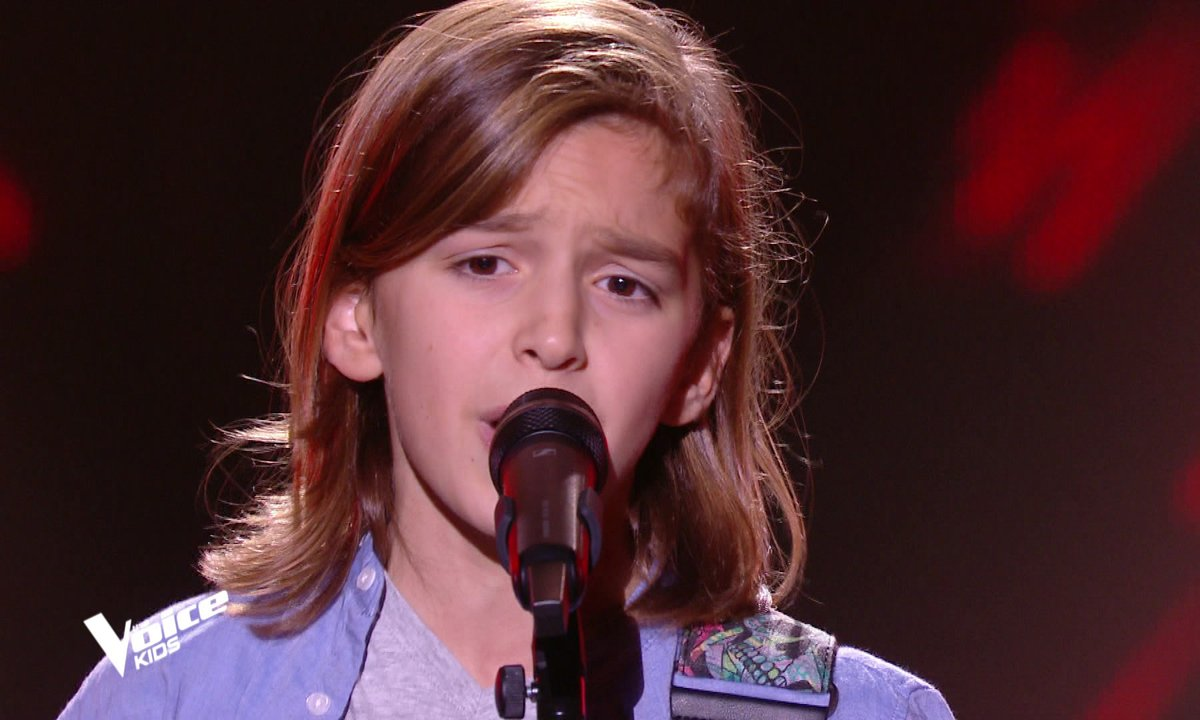 "The Voice Kids - Tom chante ""Il suffira d'un signe"" de Jean-Jacques Goldman"