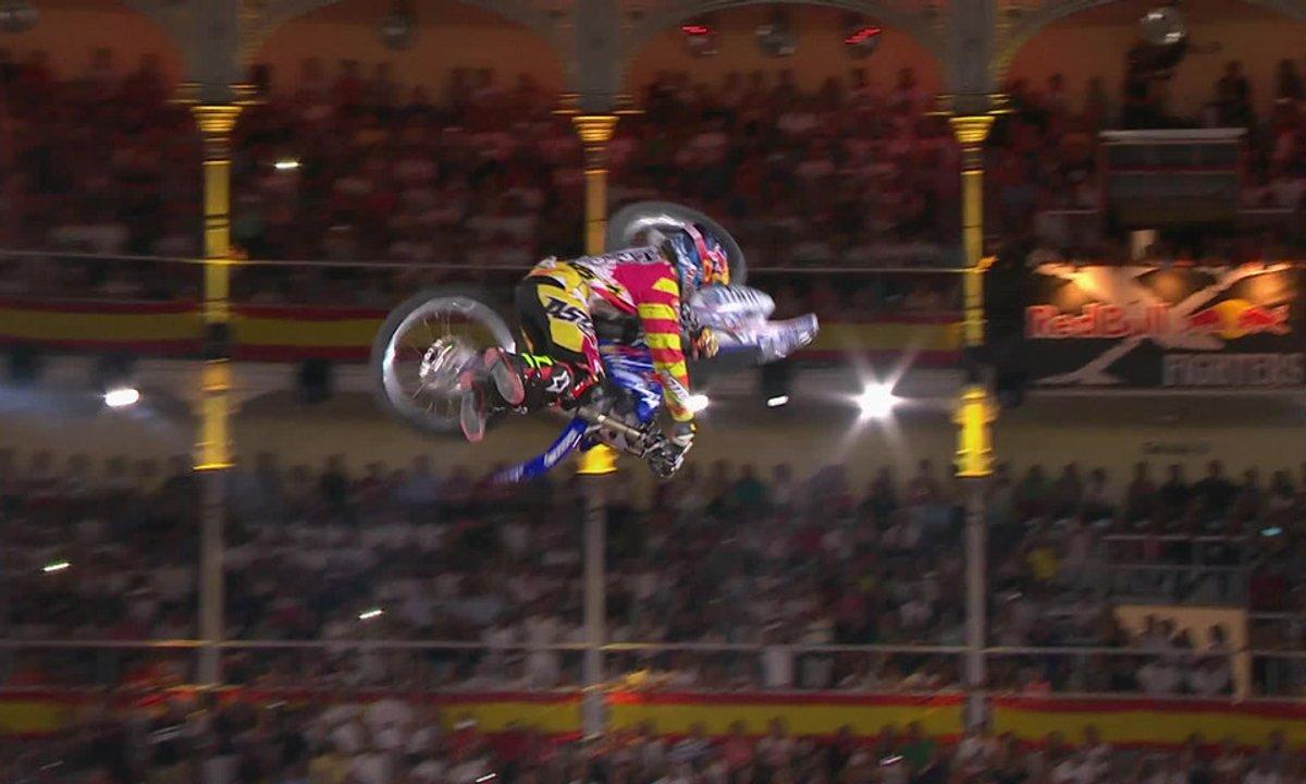 Les Red Bull X-Fighters 2014 de Madrid et la victoire de Tom Pagès