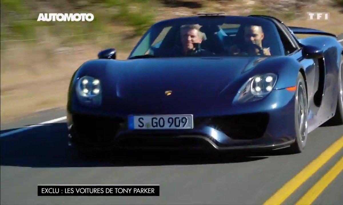 Tony Parker roule en Porsche 918 Spyder