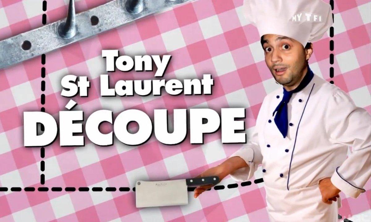 MyTELEFOOT – Tony Saint Laurent découpe...