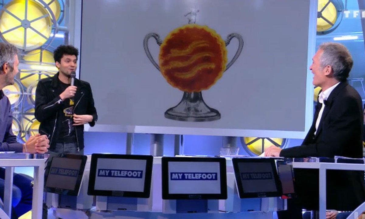 MyTELEFOOT : Tony Saint Laurent découpe... La Coupe de France !