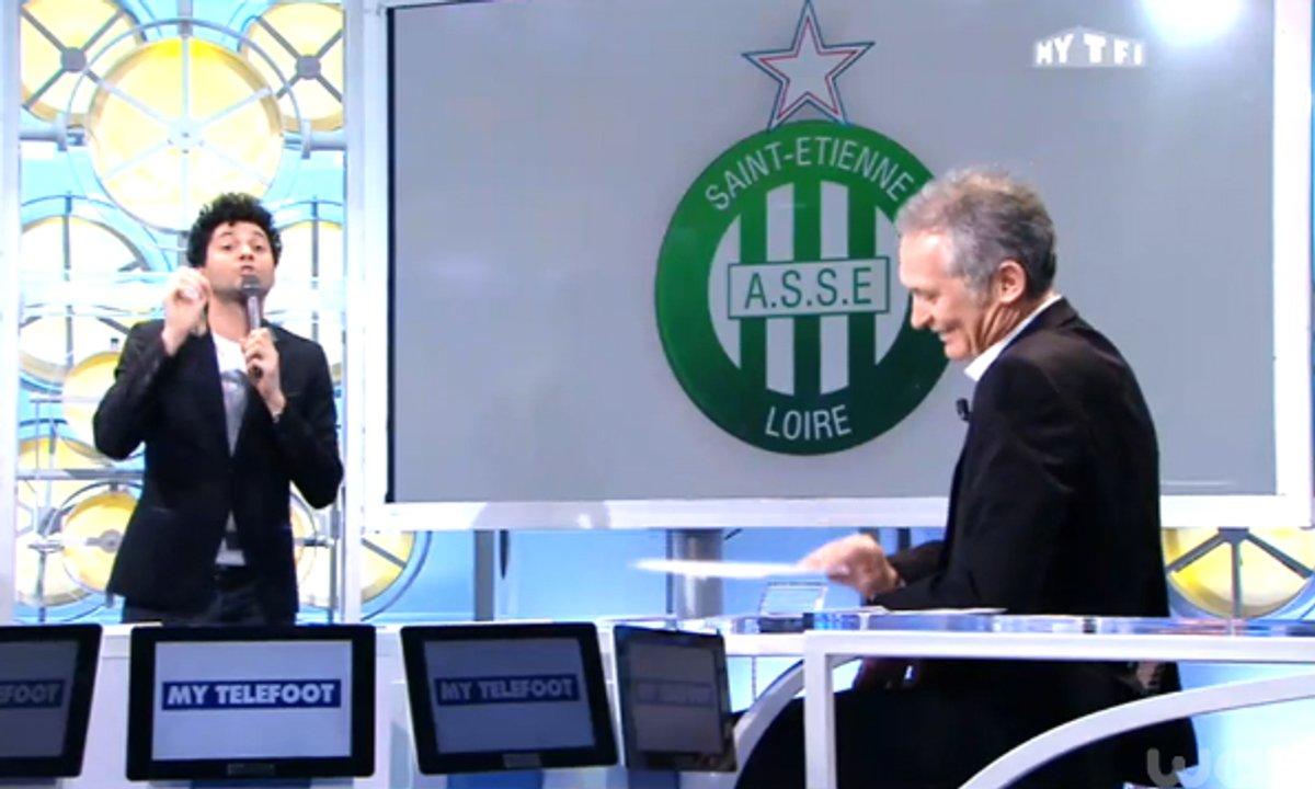 MyTELEFOOT - Tony Saint Laurent découpe... l'AS Saint-Etienne
