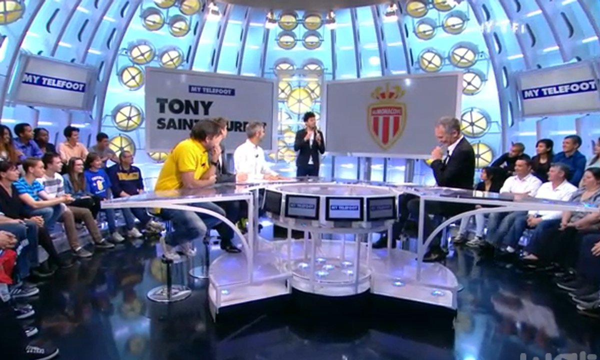 MyTELEFOOT - Tony Saint Laurent découpe... l'AS Monaco !