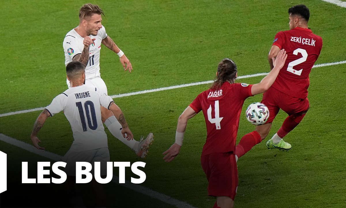 Turquie - Italie (0 - 3) : Voir tous les buts du match en vidéo