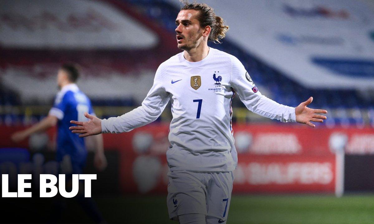 Bosnie-Herzégovine - France (0 - 1) : Voir le but de Griezmann en vidéo