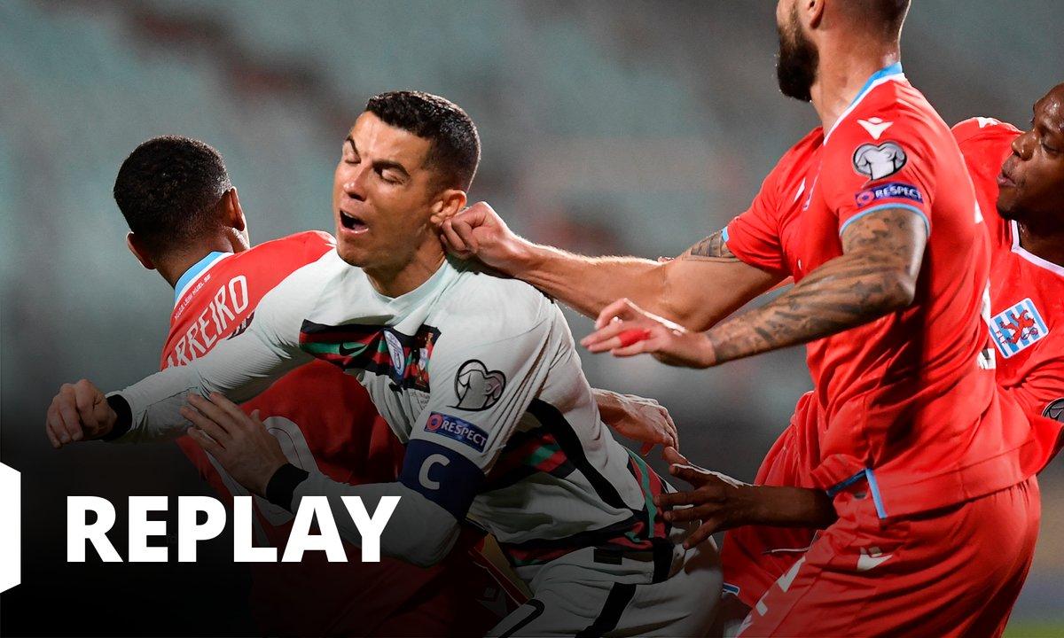 Luxembourg - Portugal : revoir le match en intégralité