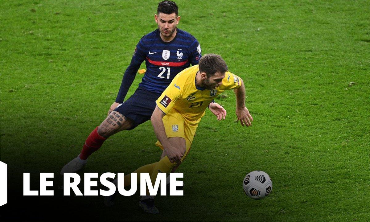 France - Ukraine : Voir le résumé du match en vidéo