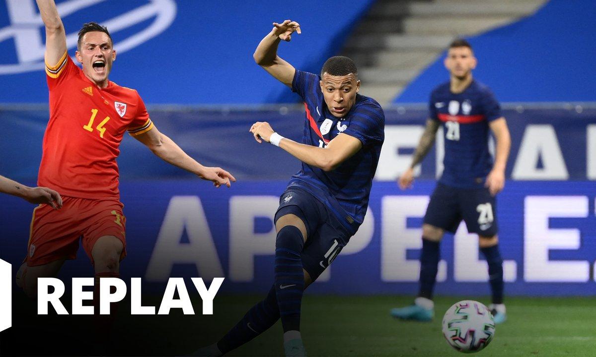 France - Pays de Galles (le match amical en intégralité)