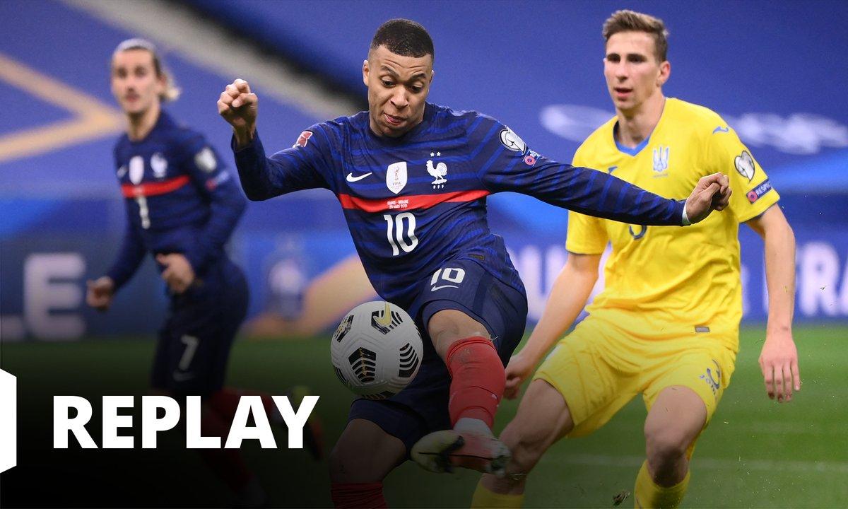 France - Ukraine  : revoir le match en intégralité