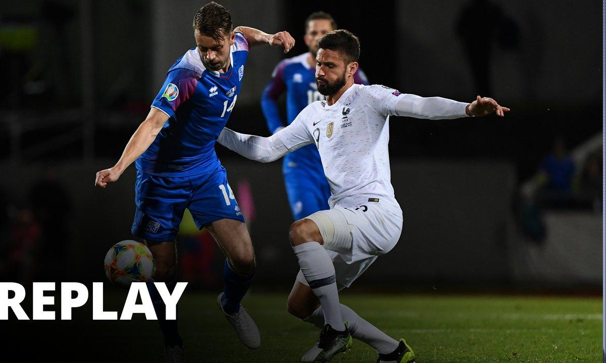 Islande - France (Qualif Euro 2020)