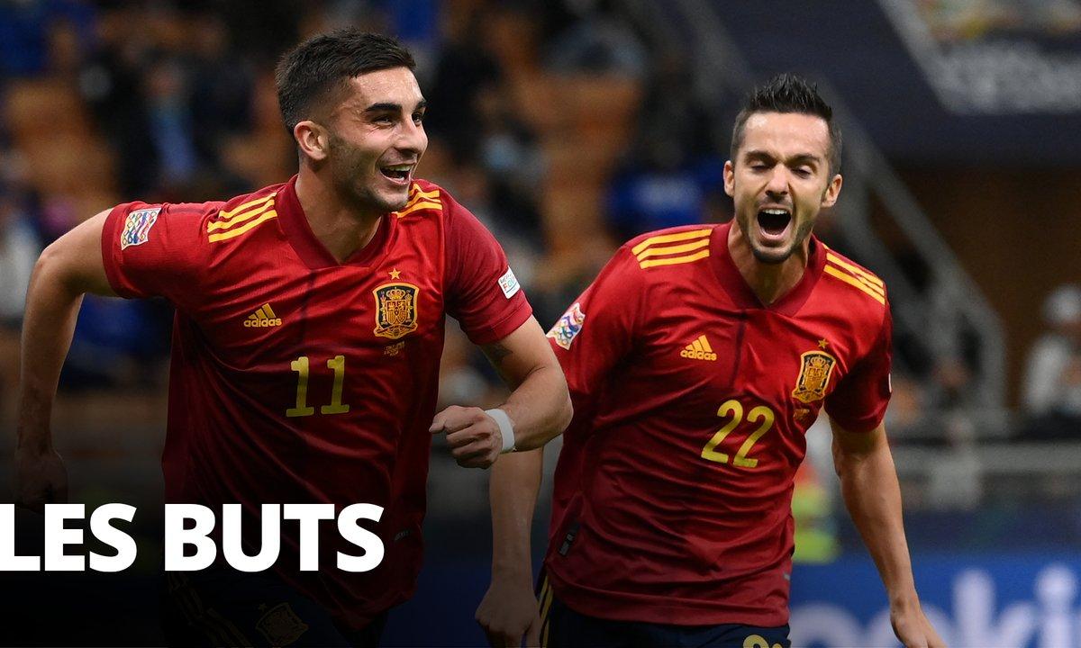 Italie - Espagne (1 - 2) : Tous les buts