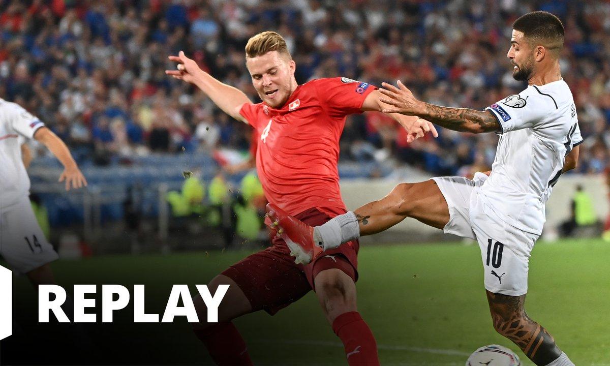 Suisse - Italie : revoir le match en intégralité