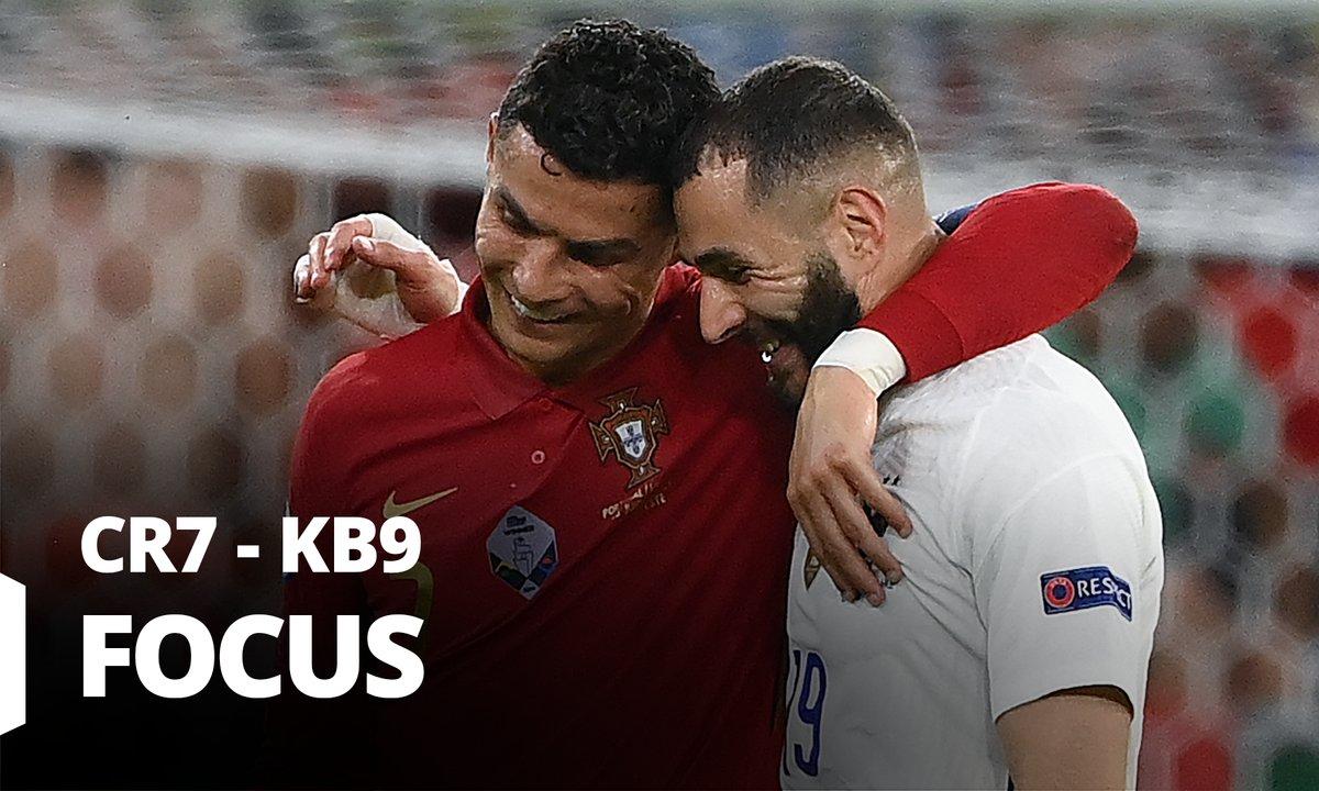 Portugal - France : Voir le match dans le match Ronaldo vs Benzema en vidéo