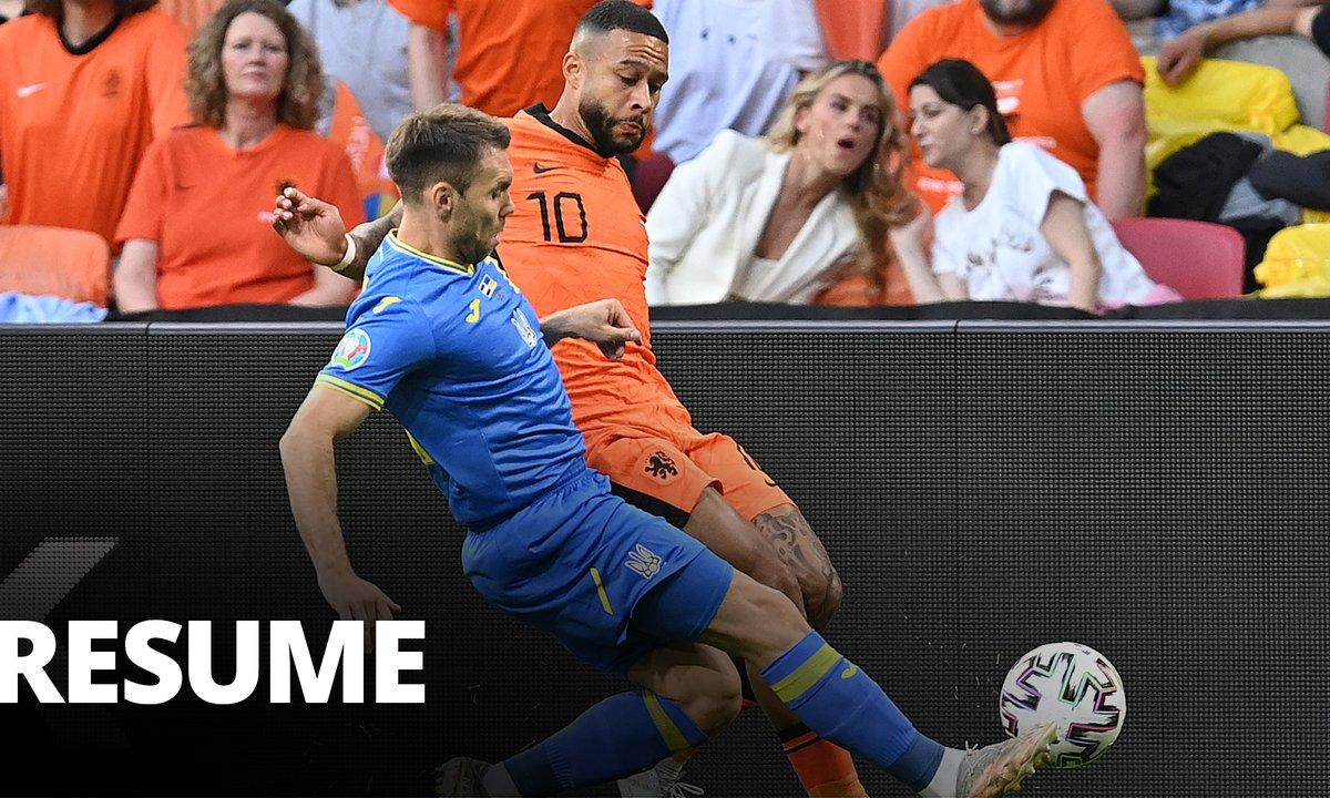 Pays-Bas - Ukraine : Voir le résumé du match en vidéo