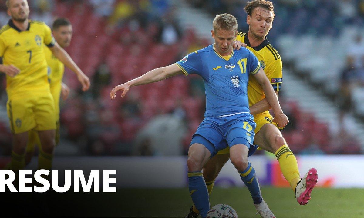 Suède - Ukraine : Voir le résumé du match en vidéo