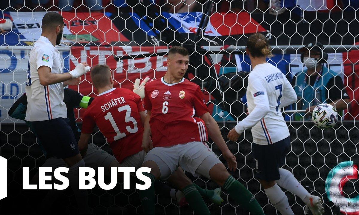 Hongrie - France (1 - 1) : Voir tous les buts du match en vidéo