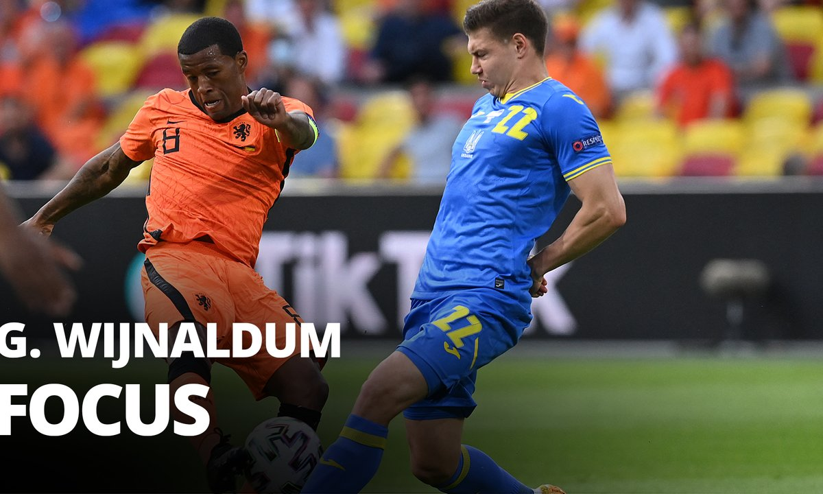 Pays-Bas - Ukraine : Voir le match de Georgino Wijnaldum en vidéo