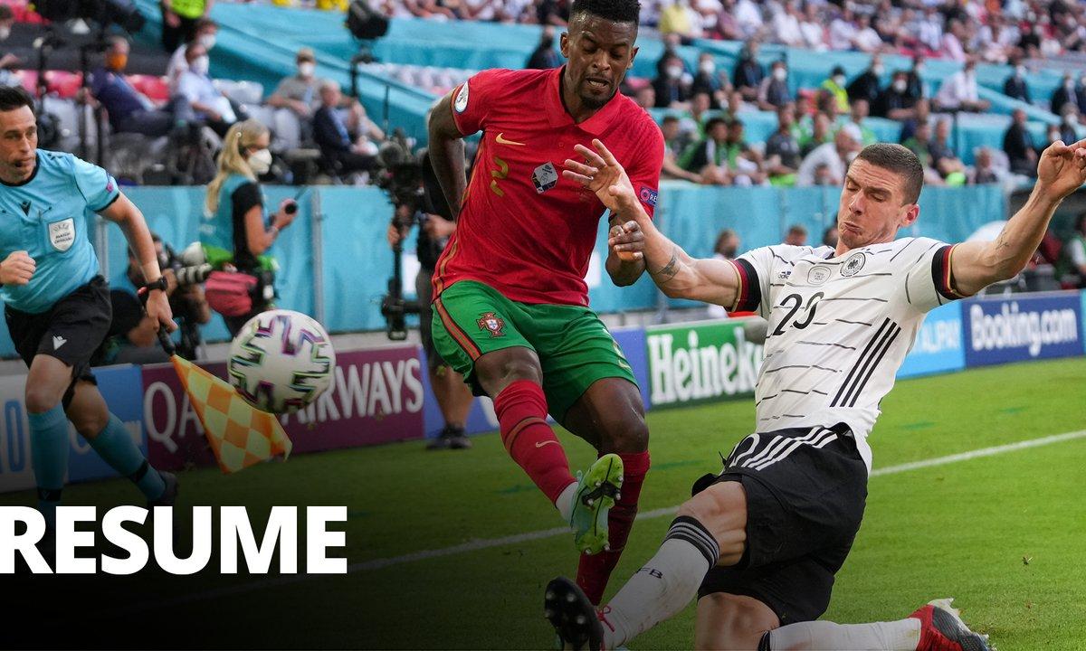 Portugal - Allemagne (2 - 4) : Voir le résumé du match en vidéo