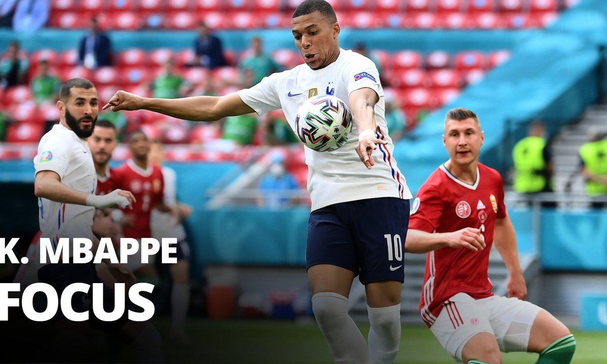 Hongrie - France : Voir le match de Kylian Mbappé en vidéo