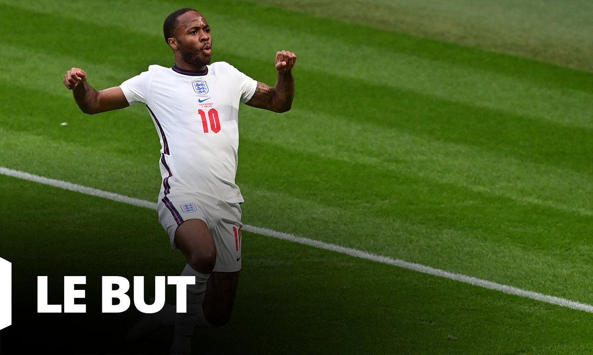 République tchèque - Angleterre (0 - 1) : Voir le but de Sterling en vidéo