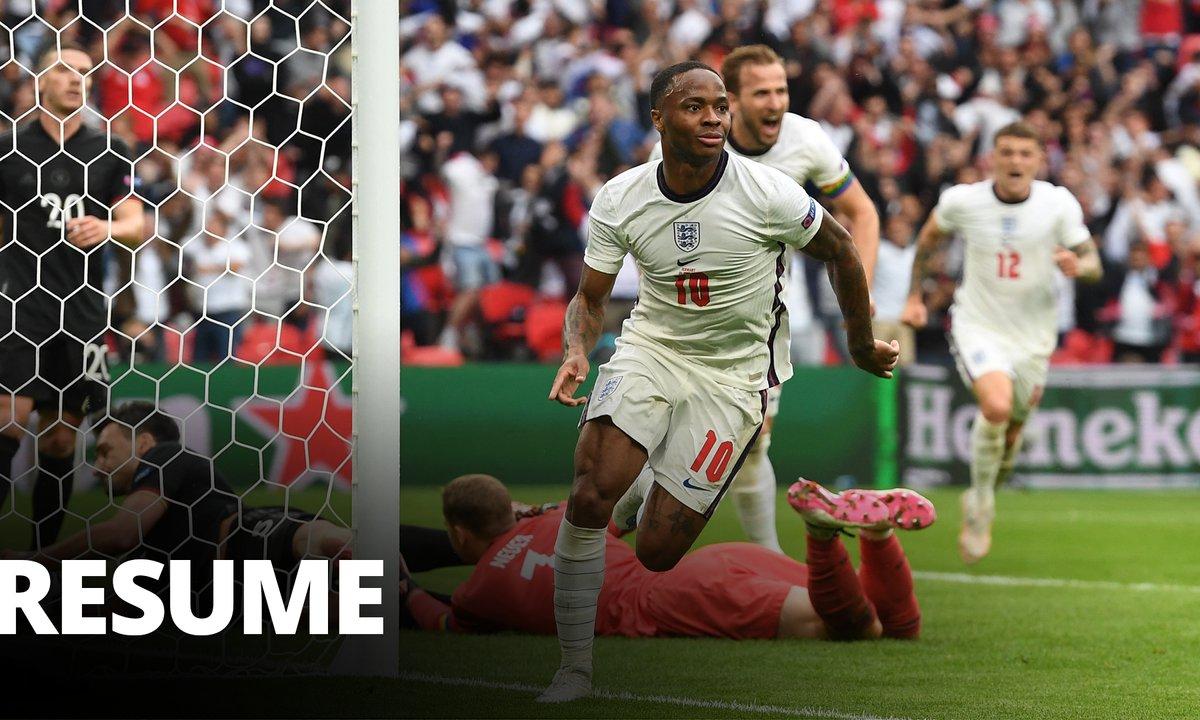 Angleterre - Allemagne : Voir le résumé du match en vidéo