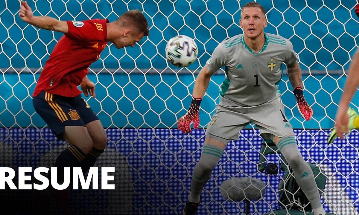 Espagne - Suède : Voir le résumé du match en vidéo