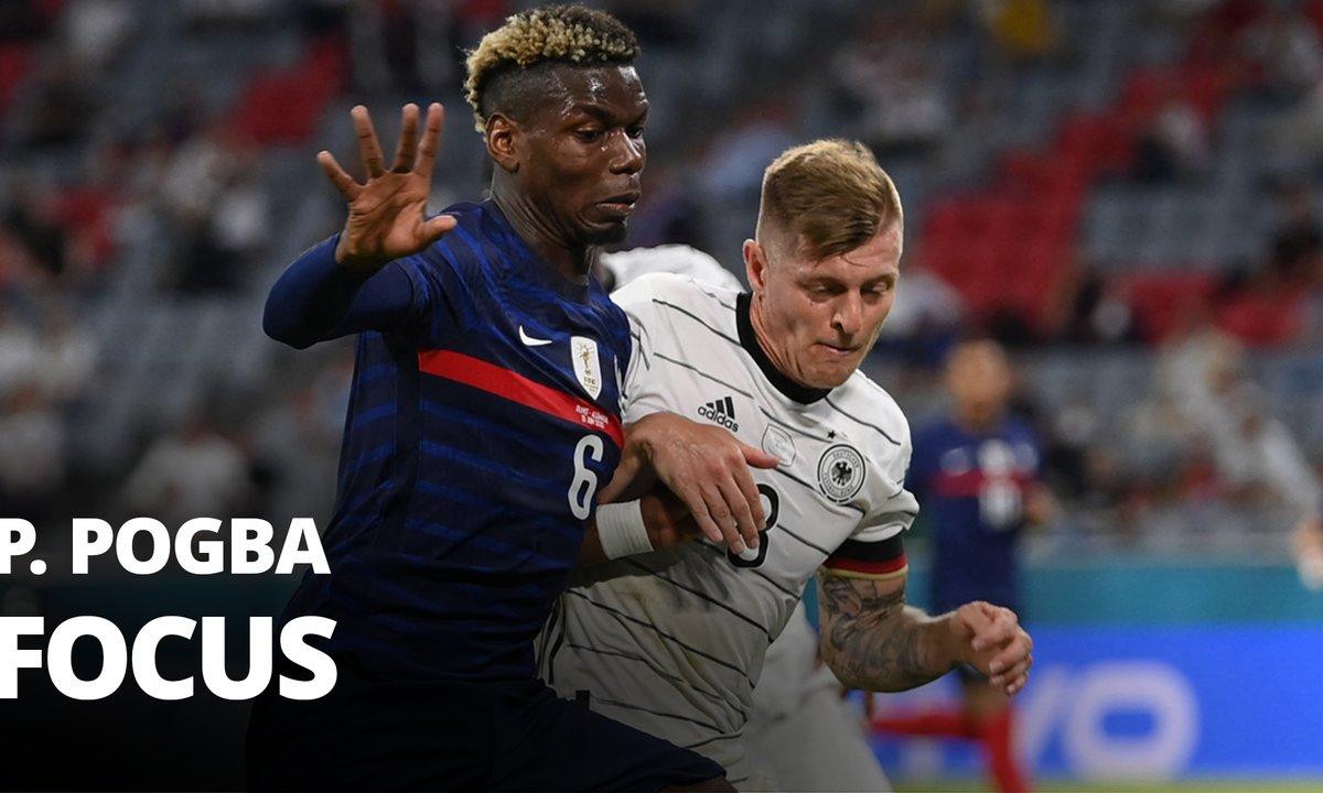 France - Allemagne : Voir le match de Pogba en vidéo