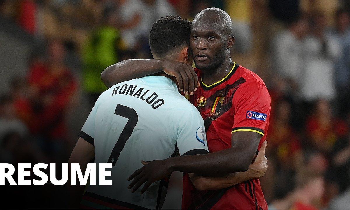 Belgique - Portugal : Voir le résumé du match en vidéo