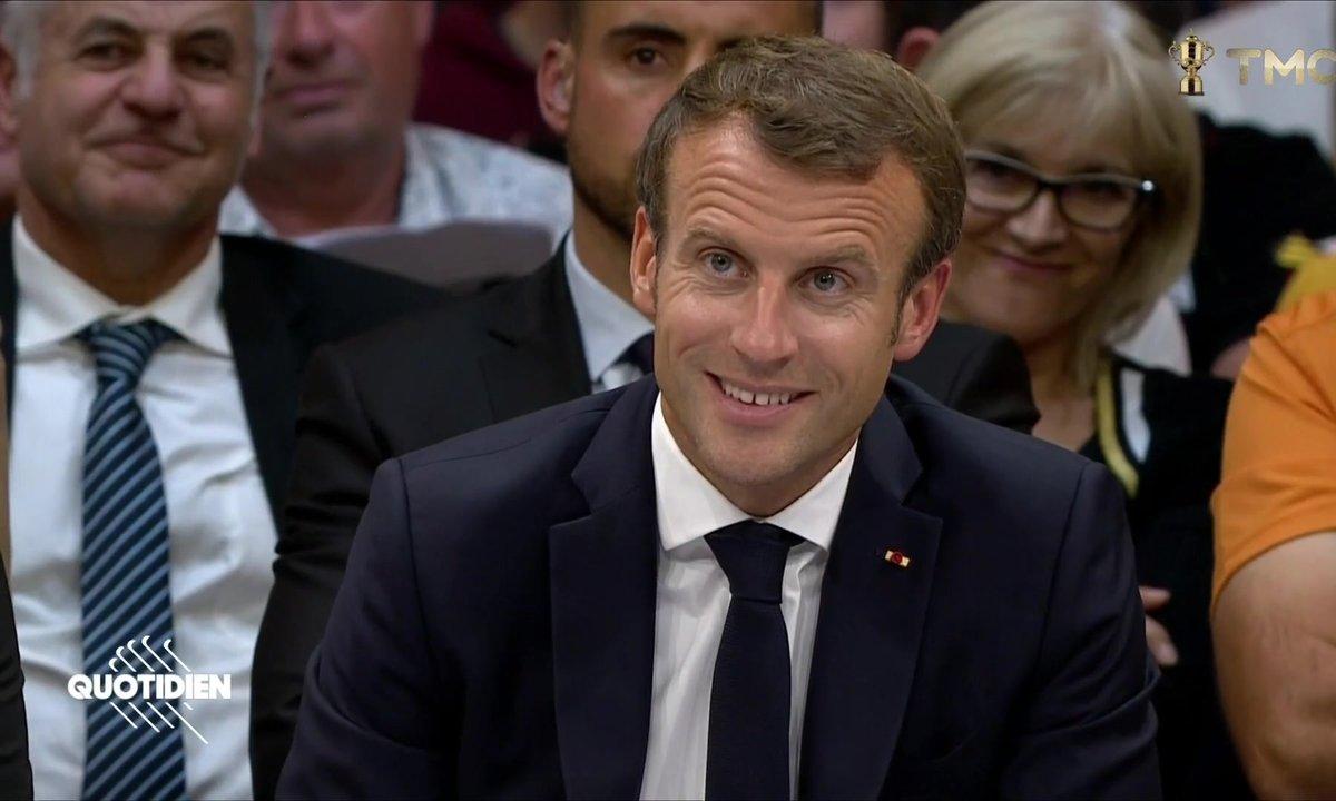 Le TOP 3 du débat d'Emmanuel Macron sur les retraites