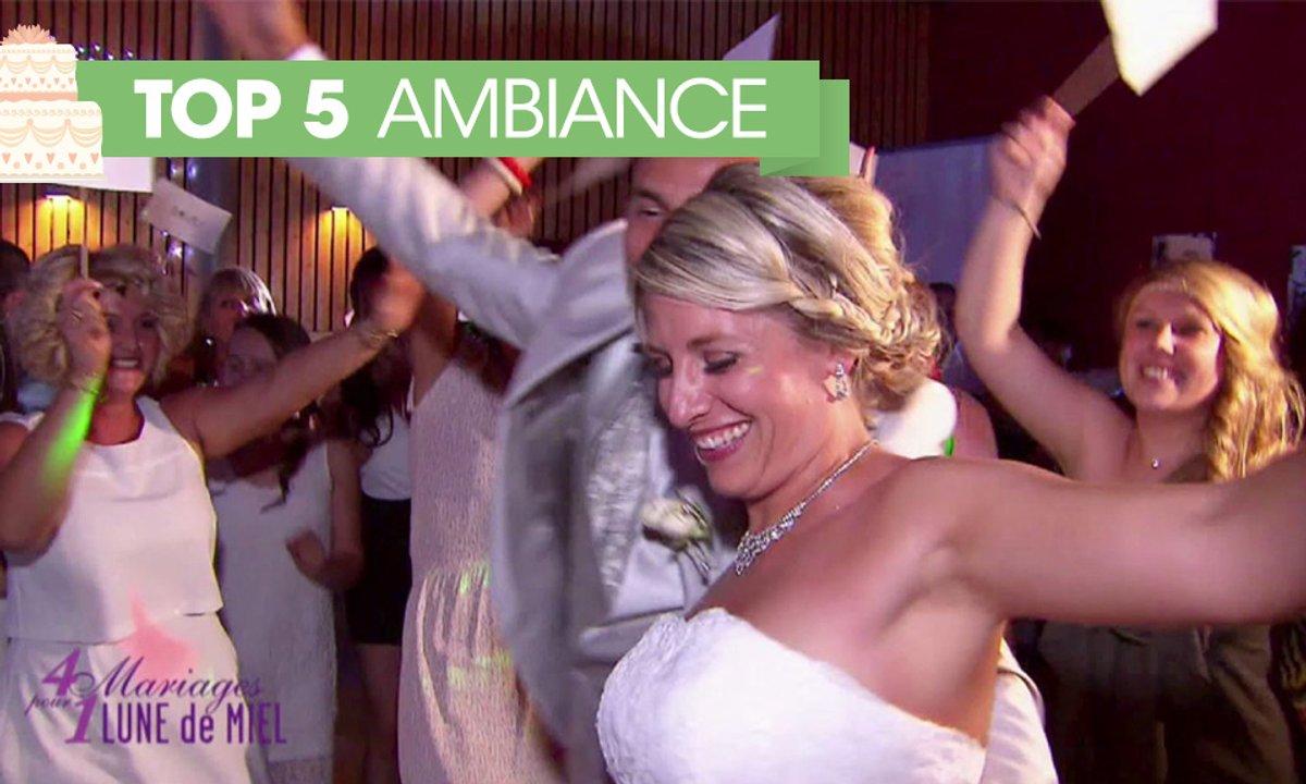 TOP 5 : une ambiance de folie pour un mariage réussi !
