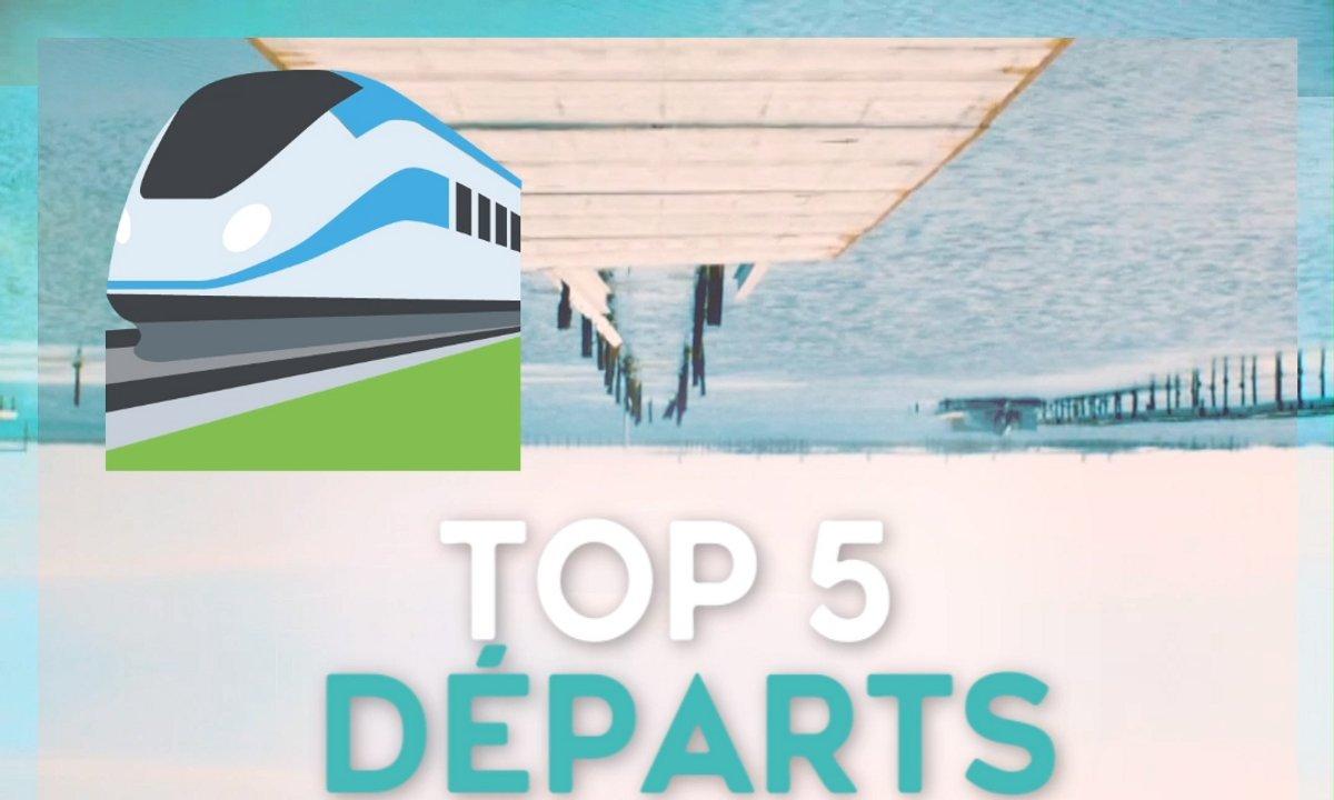 Top 5 des départs ✈