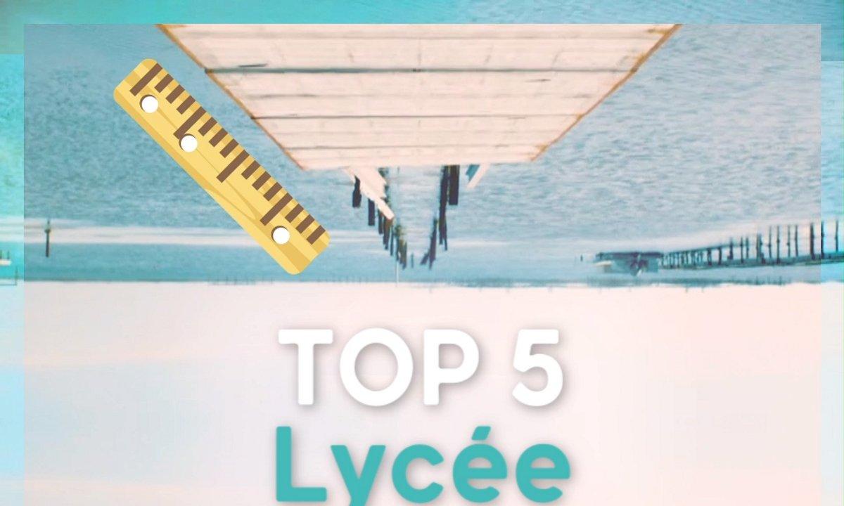 TOP 5 du Lycée Paul Valéry 🎒
