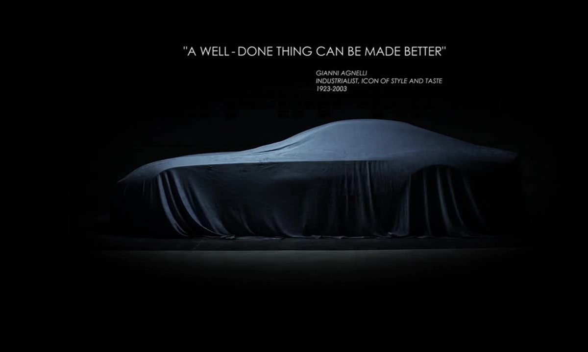 Touring Superleggera Berlinetta Lusso Concept 2015 : vidéo teaser