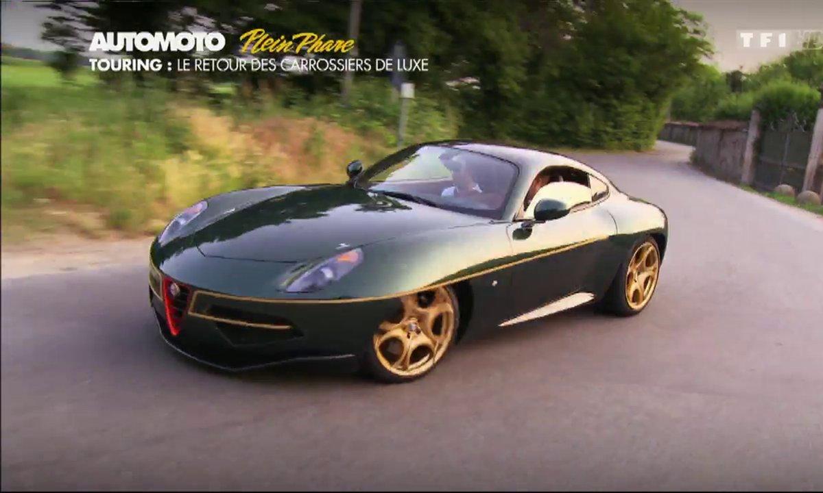 Plein Phare : Touring Superleggera Disco Volante, bellissima !