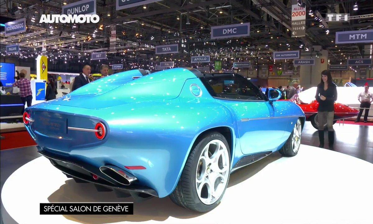 La Touring Superleggera Disco Volante Spider au Salon de Genève 2016