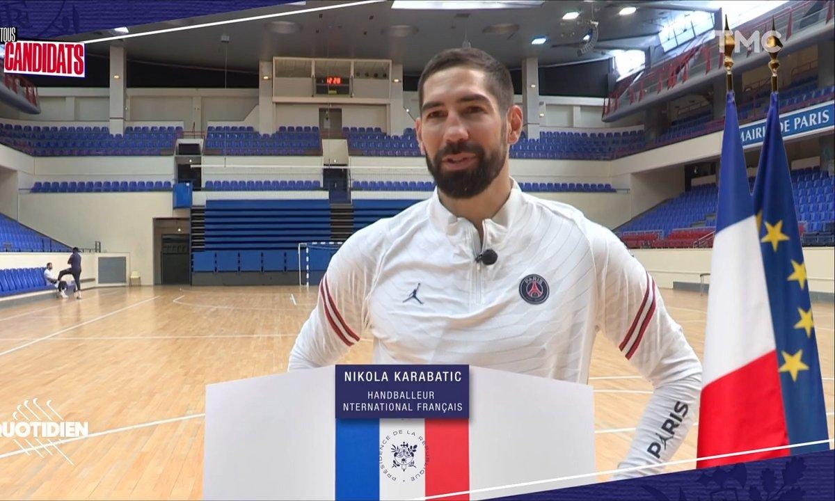Tous candidats : les propositions de Nikola Karabatic