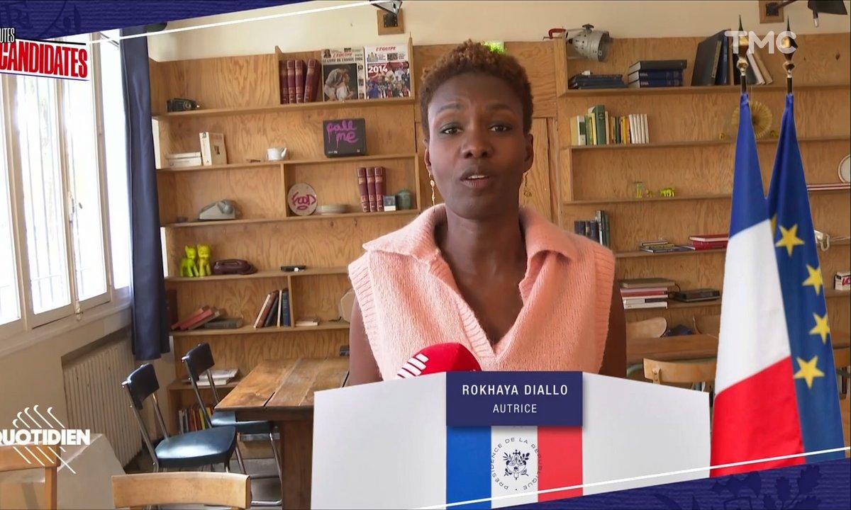 Toutes candidates : Rokhaya Diallo