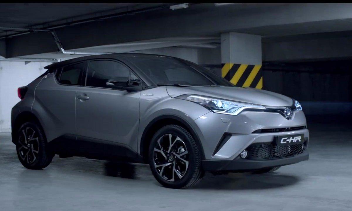 Le Toyota C-HR rentre dans la guerre des SUVs urbains