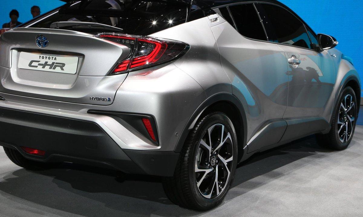 Toyota C-HR, au Salon de Genève