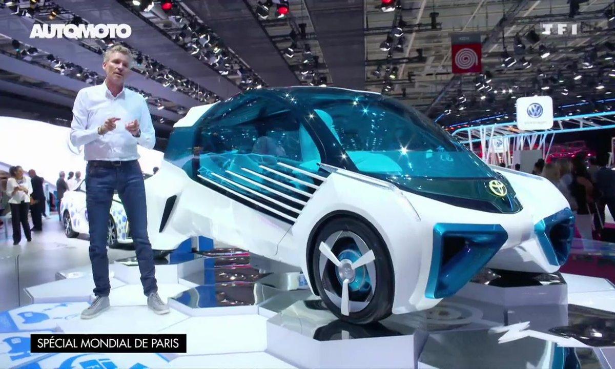 Toyota FCV Plus Concept : science-fiction à hydrogène au Mondial de l'Auto 2016