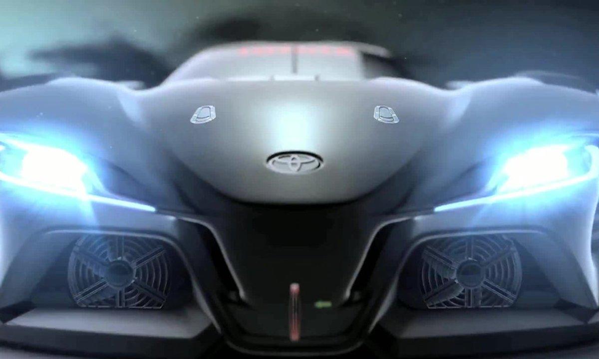 Toyota FT-1 Vision Gran Turismo 2014 : première vidéo officielle