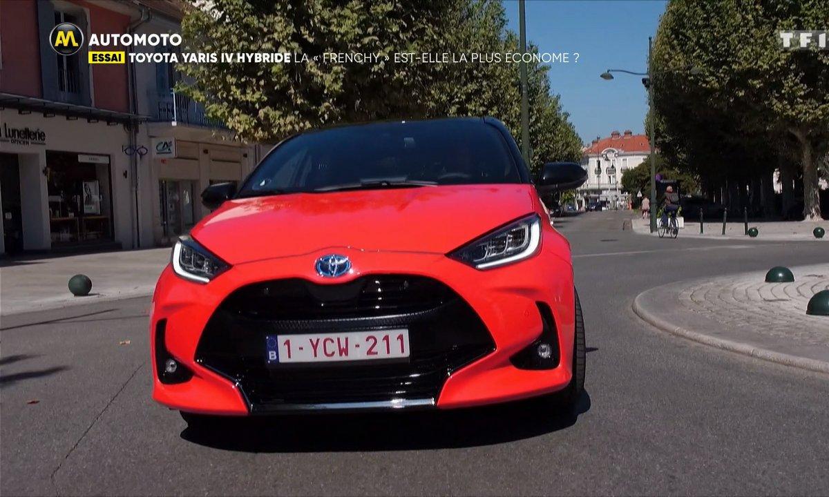 """Essai : La Toyota Yaris hybride IV, la """"Frenchy"""" est-elle la plus économe ?"""