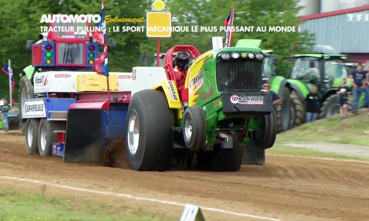 Evénement - Tracteur Pulling : Le sport mécanique le plus puissant au monde