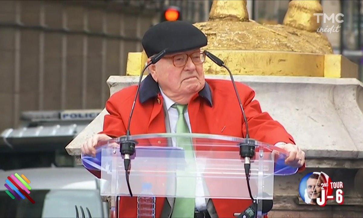 Tradition du 1er Mai : Jean-Marie Le Pen a fait sa fête à Jeanne d'Arc