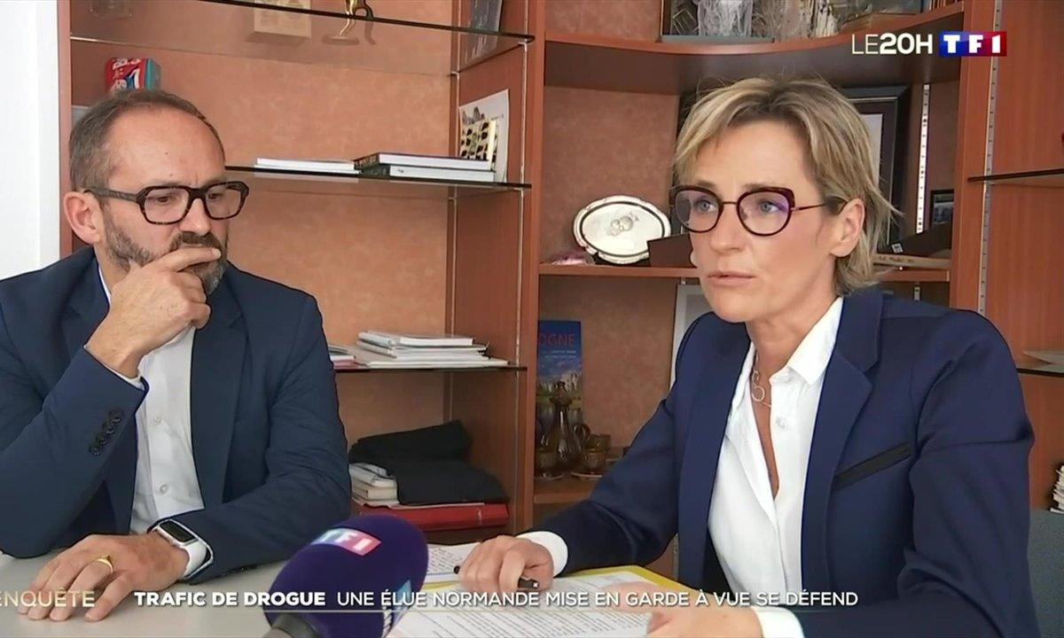 Trafic de drogue : la maire de Canteleu mise en garde à vue se défend