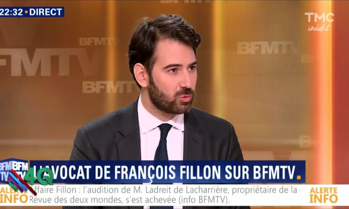 """Les 4 Q - """"L'argument qui tue"""" de l'avocat de Fillon,"""