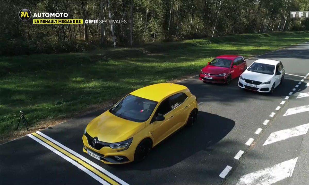 La Renault Mégane RS défie ses rivales